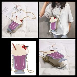 Handbags - Ice cream shake purse